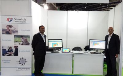 Sanohub  exhibited VitaCuro at Advantage Healthcare India Summit